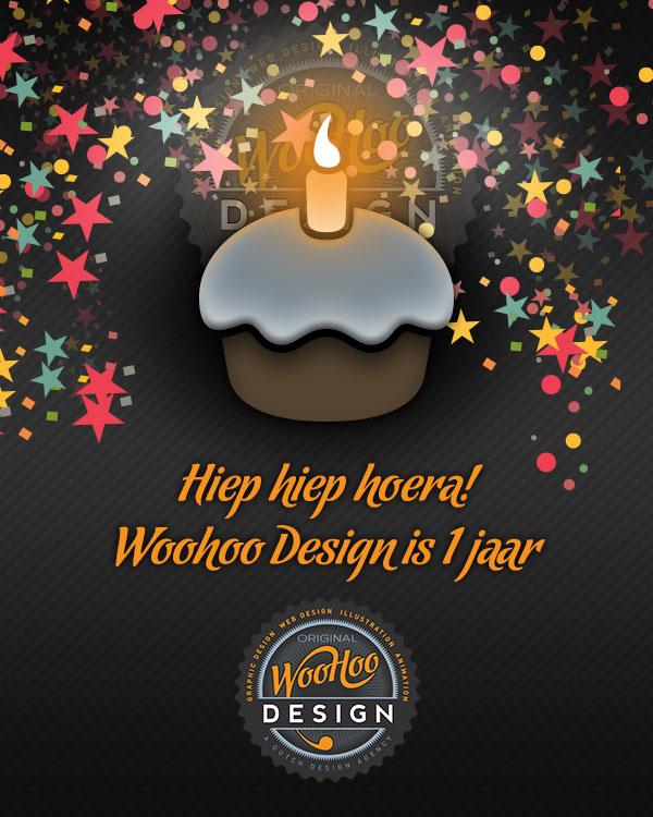 Woohoo Design is 1 jaar