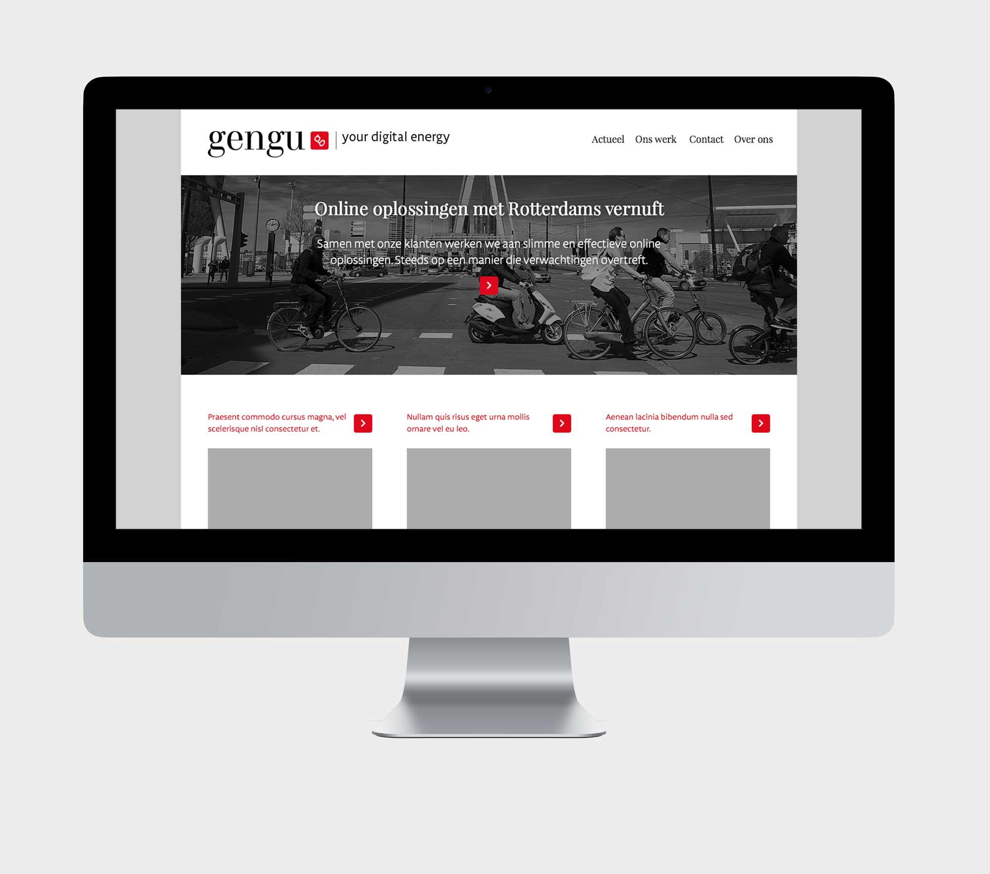 Gengu website